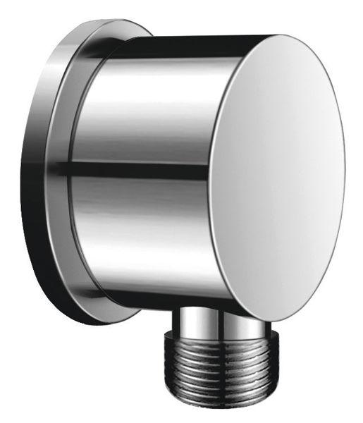 Снимка на PKN02 Стенен извод за душ кръгъл
