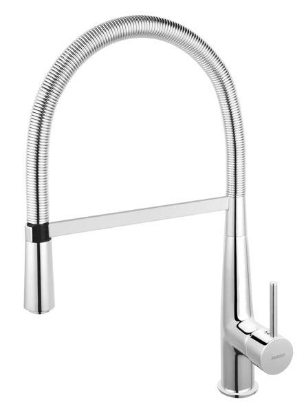 Снимка на SONATA BNA4 Смесител за кухня R200 с подвижен душ