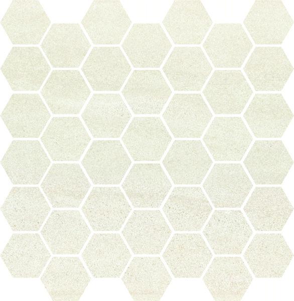 Снимка на Декор 29/29.7 Bantu Cream Heksagon Small Mosaic Glossy