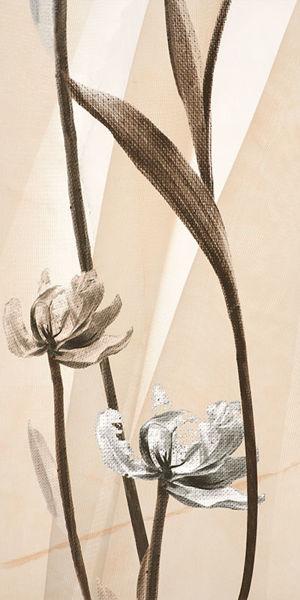Снимка на ДЕКОР 30/60 MARBLE BEIGE WHITE FLOWER 2 SERANIT