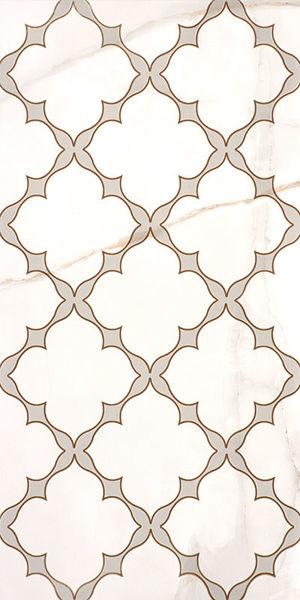 Снимка на ДЕКОР 30/60 MARBLE WHITE GLOSSY GOLD SERANIT