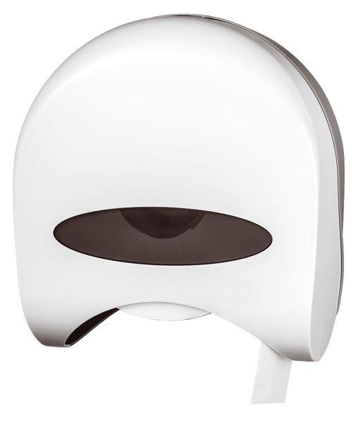 Снимка на Диспенсер за тоалетна ролка, бял 69094.1