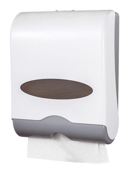 Снимка на Диспенсер за хартиени кърпи, бял 69081.1