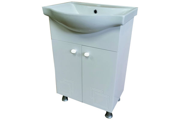 PVC долен стоящ шкаф за баня КАЛА 2