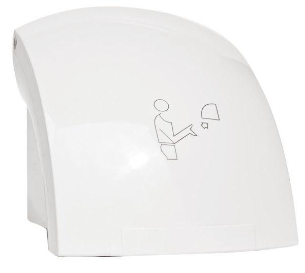 Снимка на Електрически сешоар за ръце 1500W бял 69091.1