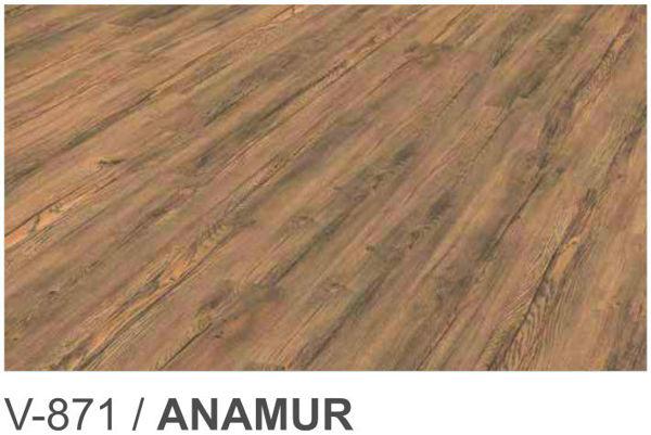 Снимка на Ламиниран паркет 8мм АС4 32кл ANAMUR  V-871
