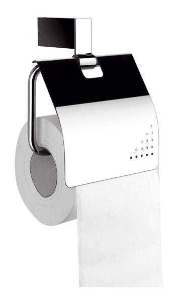 Снимка на Поставка за тоалетна хартия с капак 66538.0