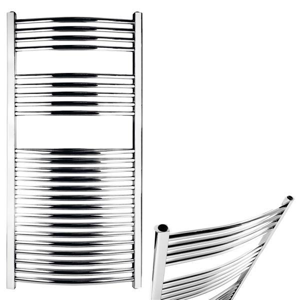 Снимка на Радиатор за баня кръгъл хром 600/1600.0