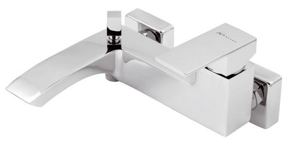 Снимка на Смесител за вана без аксес.150 мм EDGE хром 36020/1.0