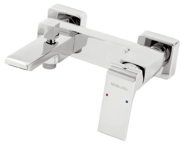 Снимка на Смесител за вана/ душ без аксесоари NOBLESS Sharp 37020/1.0