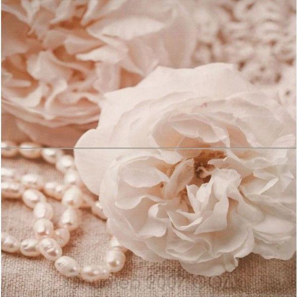 Снимка на Декор 50/50 Бали Роза с перли (2части) 19101