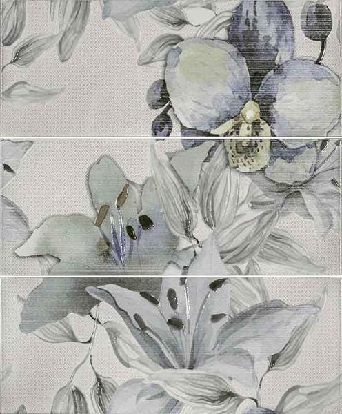 Снимка на Декор 50/60 Виола цветя зелена 24641
