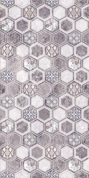 Снимка на Декор 30/60 Перлато мозайка сива 4627