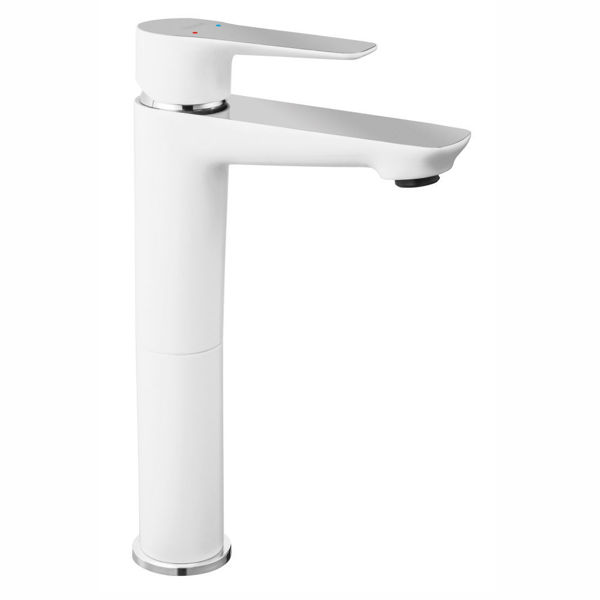Снимка на ADORE BDR2L С-л за умивалник стоящ, висок, бяло и хром