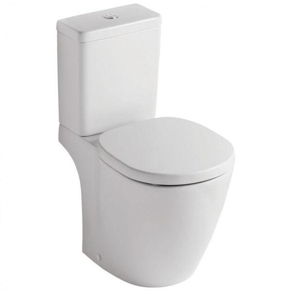 Снимка на E716401 CONNECT CUBE WC комплект, ХО с плавно затваряне