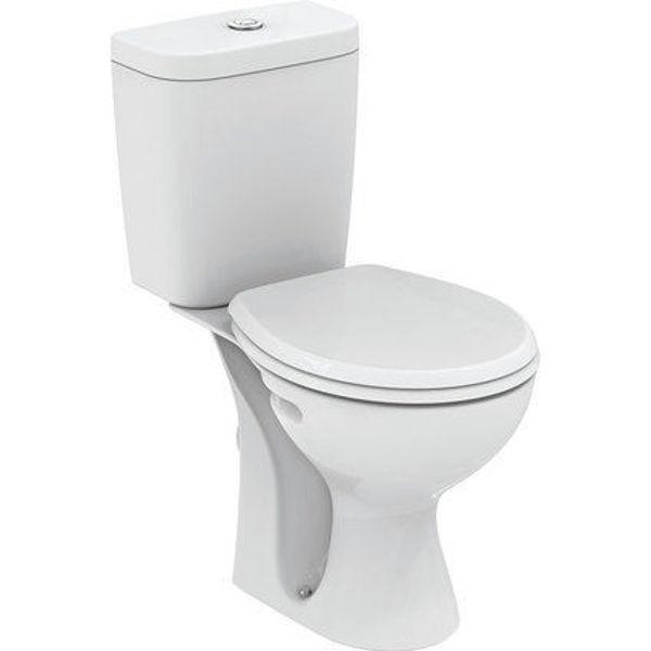 Снимка на W833801 WC комплект SEVA FRESH RIMLESS с плавен капак
