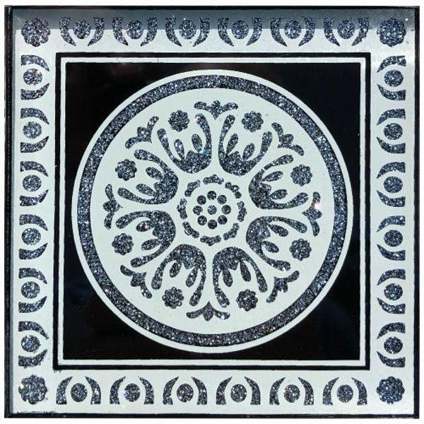 Снимка на 10/10 Стъклен фриз 0131 SILVER BLACK