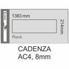 Снимка на Ламиниран паркет 8мм АС4 Cadenza ALLEGRO DARK BROWN  K1613