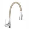 Снимка на Смесител за кухня ZUMBA BZA42P с гъвкав PVC пясъчен чучур накрайник душ