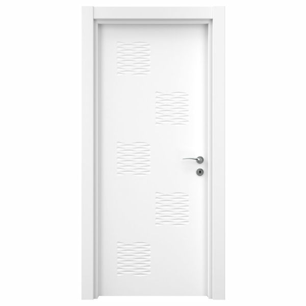 Снимка на Врата Variodor  Lake white VDA-40 обикновена брава