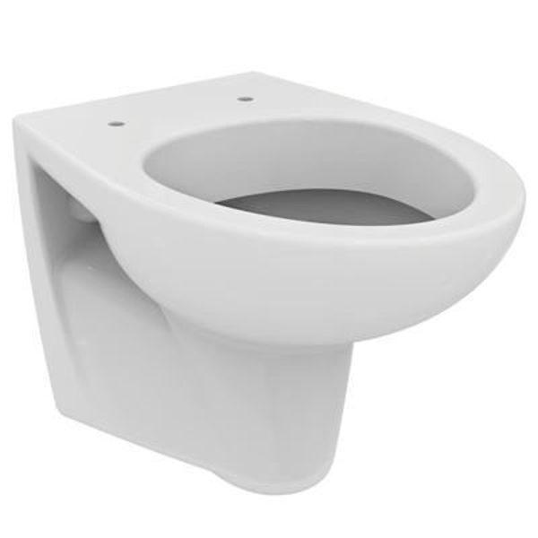 Снимка на W720301 Сева дуо тоалетна чиния конзолна бяла