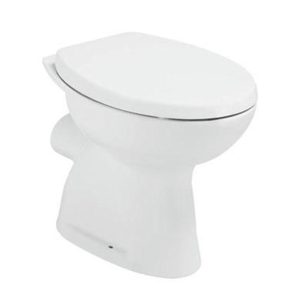 Снимка на W719901 Seva duo Тоалетна чиния с хоризонтално оттичане