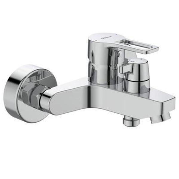 Снимка на BC402AA Seva Top Смесител стенен за вана/душ