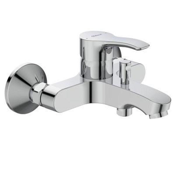 Снимка на BC388AA Seva S Смесител стенен за вана/душ