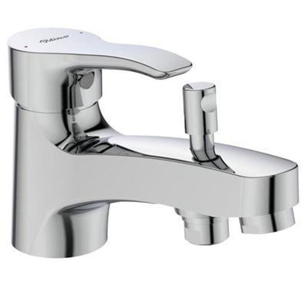 Снимка на BC390AA Смесител Seva S стоящ за вана/душ без аксесоари