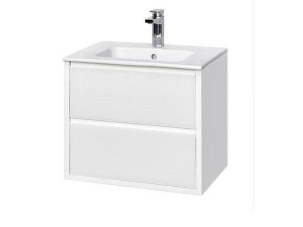 Снимка на Rimini мебел 60см бял гланц  с мивка WQ7Z226601RN010