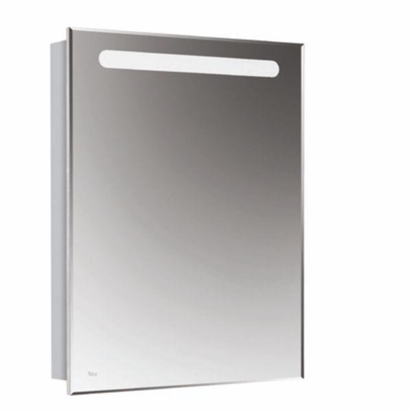 Снимка на Victoria Nord шкаф-огледало 60см, дясно, бял гланц A857475806