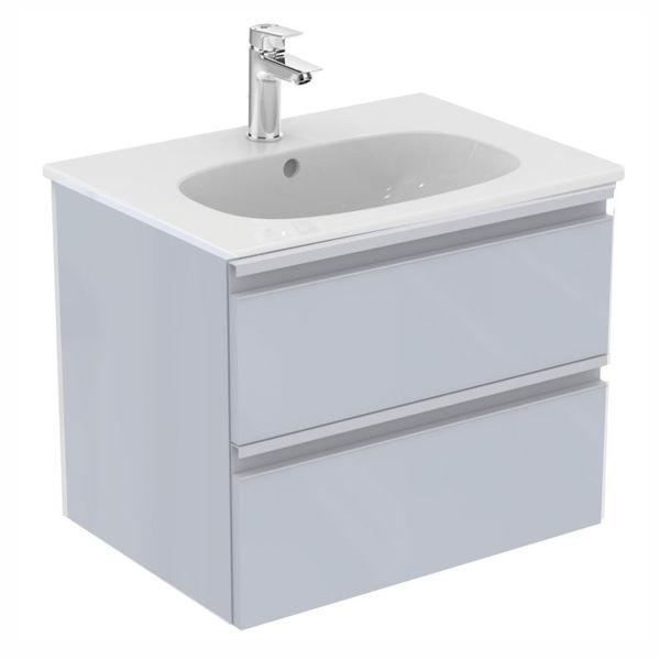 Снимка на Комплект шкаф с мивка Tesy 60см (T0050PH+E351001)